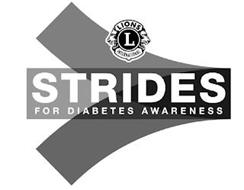 STRIDES FOR DIABETES AWARENESS L LIONS INTERNATIONAL