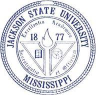 JACKSON STATE UNIVERSITY MISSISSIPPI EXCELLENTIA ACADEMICA INVESTIGATIO ET OFFICIUM 1877