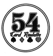 54 CARD ROULETTE