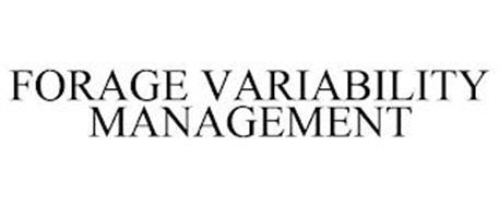 FORAGE VARIABILITY MANAGEMENT