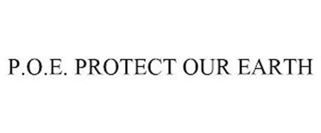P.O.E. PROTECT OUR EARTH