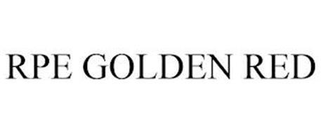 RPE GOLDEN RED