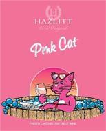 HV HAZLITT 1852 VINEYARDS PINK CAT FINGER LAKES BLUSH TABLE WINE HHJ