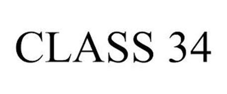 CLASS 34