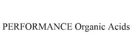 PERFORMANCE ORGANIC ACIDS