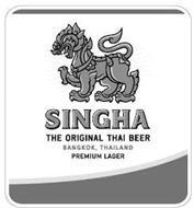 SINGHA THE ORIGINAL THAI BEER BANGKOK, THAILAND PREMIUM LAGER
