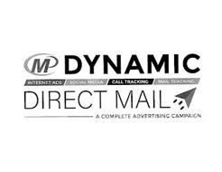 DYNAMIC DIRECT MAIL MP INTERNET ADS SOCIAL MEDIA CALL TRACKING MAIL TRACKING   A COMPLETE ADVERTISNING CAMPAIGN