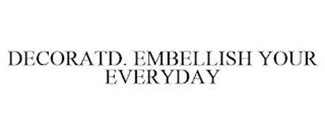 DECORATD. EMBELLISH YOUR EVERYDAY