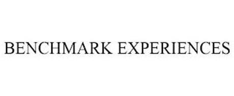 BENCHMARK EXPERIENCES