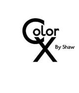 COLOR X BY SHAW