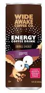 WIDE AWAKE COFFEE CO. ENERGY COFFEE DRINK DOUBLE ENERGY COFFEE