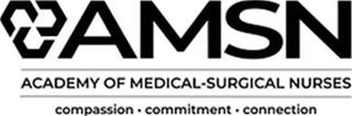 C C C AMSN ACADEMY OF MEDICAL-SURGICAL NURSES COMPASSION · COMMITMENT · CONNECTION