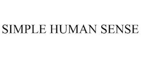SIMPLE HUMAN SENSE