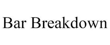 BAR BREAKDOWN