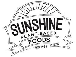 SUNSHINE PLANT-BASED FOODS SINCE 1983