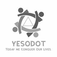 YESODOT TODAY WE CONQUER OUR LIVES.