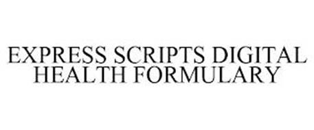 EXPRESS SCRIPTS DIGITAL HEALTH FORMULARY