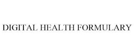 DIGITAL HEALTH FORMULARY