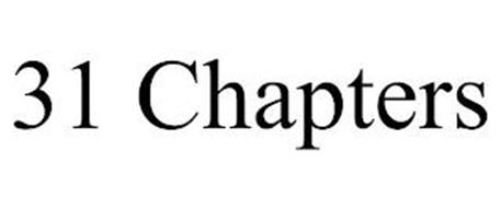 31 CHAPTERS