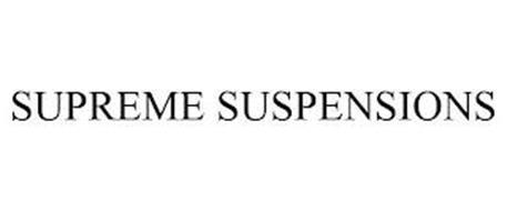 SUPREME SUSPENSIONS
