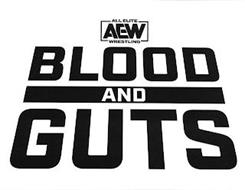 ALL ELITE WRESTLING AEW BLOODS AND GUTS