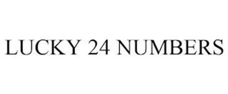 LUCKY 24 NUMBERS
