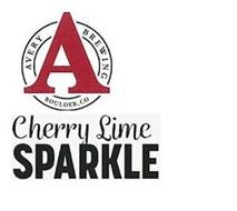 A AVERY BREWING BOULDER, CO CHERRY LIME SPARKLE