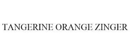 TANGERINE ORANGE ZINGER