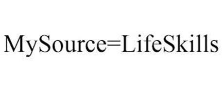 MYSOURCE=LIFESKILLS