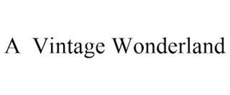 A VINTAGE WONDERLAND