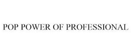 POP POWER OF PROFESSIONAL