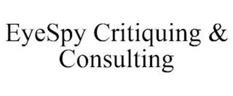 EYESPY CRITIQUING & CONSULTING