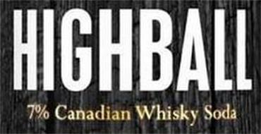 HIGHBALL 7% CANADIAN WHISKY SODA