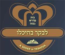 A SEDER IN YESHIVA