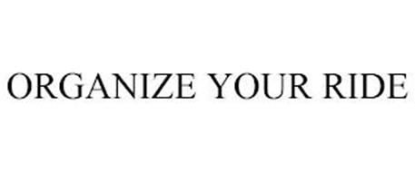 ORGANIZE YOUR RIDE