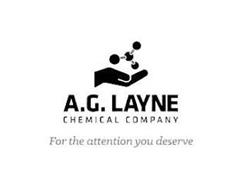 A.G. LAYNE CHEMICAL COMPANY FOR THE ATTENTION YOU DESERVE