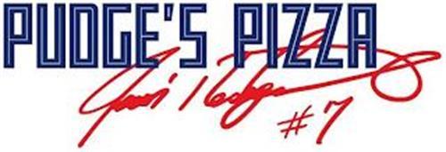 PUDGE'S PIZZA IVAN RODRIGUEZ #7