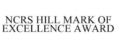 NCRS HILL MARK OF EXCELLENCE AWARD