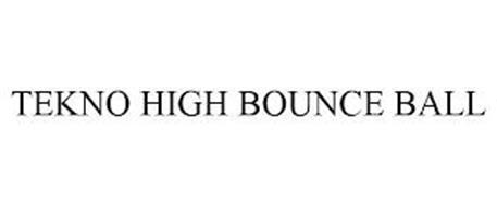 TEKNO HIGH BOUNCE BALL