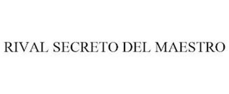 RIVAL SECRETO DEL MAESTRO