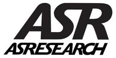 ASR ASRESEARCH