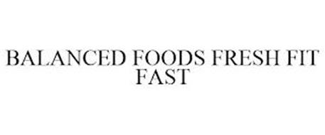 BALANCED FOODS FRESH FIT FAST