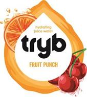 HYDRATING JUICE WATER TRYB FRUIT PUNCH