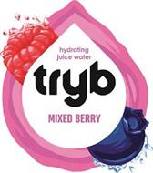 HYDRATING JUICE WATER TRYB MIXED BERRY