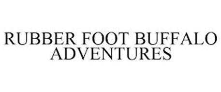 RUBBER FOOT BUFFALO ADVENTURES
