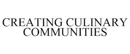 CREATING CULINARY COMMUNITIES