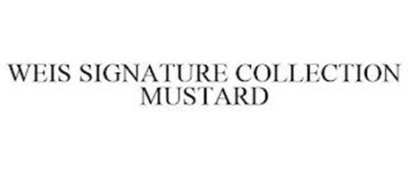WEIS SIGNATURE COLLECTION MUSTARD