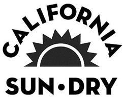CALIFORNIA SUN · DRY