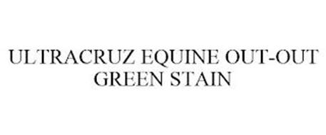 ULTRACRUZ EQUINE OUT-OUT GREEN STAIN