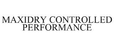 MAXIDRY CONTROLLED PERFORMANCE